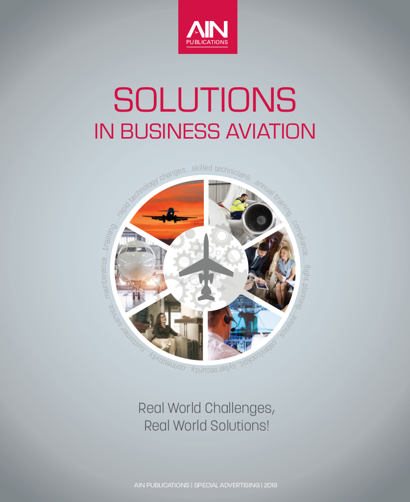 AIN Solutions in Business Aviation